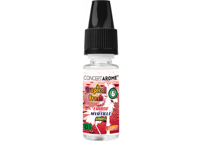 3x10ML TROPICAL  MIX FRUITS 0MG