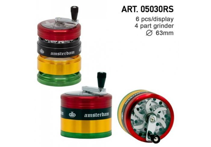 BTE 4PART 63MM RASTA AMSTERDAM