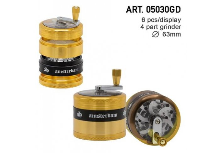 BTE 4PART 63MM GOLD AMSTERDAM