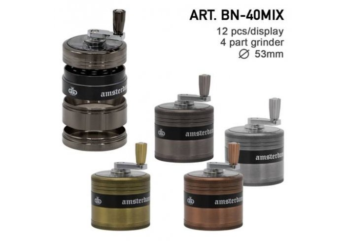 BTE 4PART 53MM COULEURS  ASSOCIEES