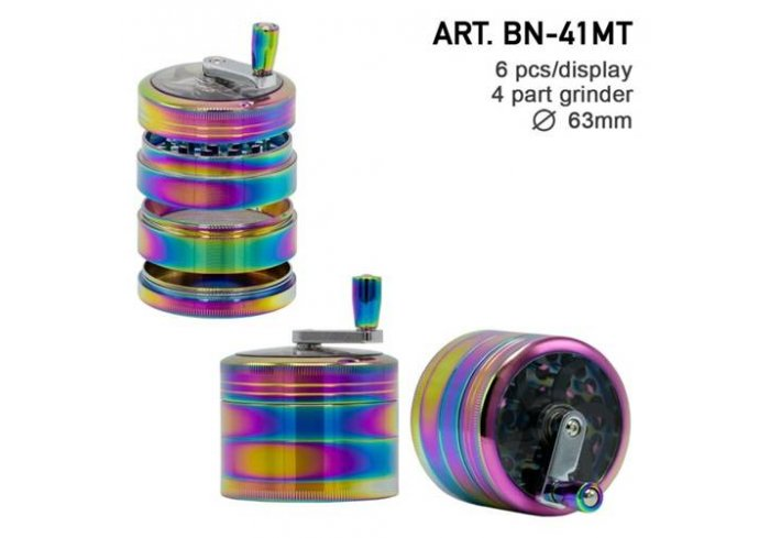 BTE 4PART 63MM RAINBOW
