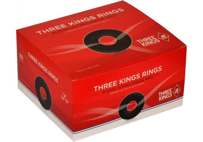 """B.80 CHARBONS RINGS """"3 KINGS"""""""