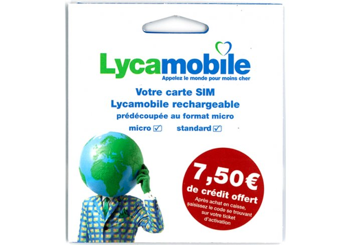 KIT SIM LYCAMOBILE