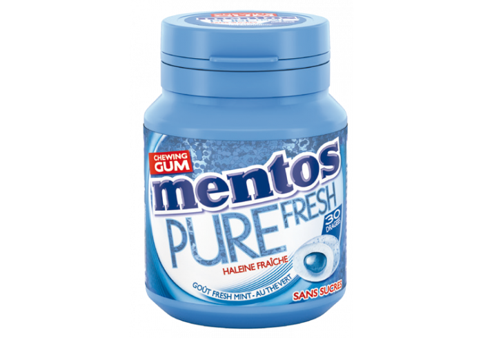 B. 6 BOX MENTOS PURE FRESH MINT