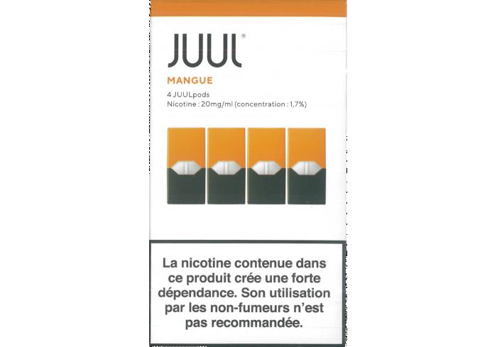 BOITE 8 JUULpods4 MANGUE