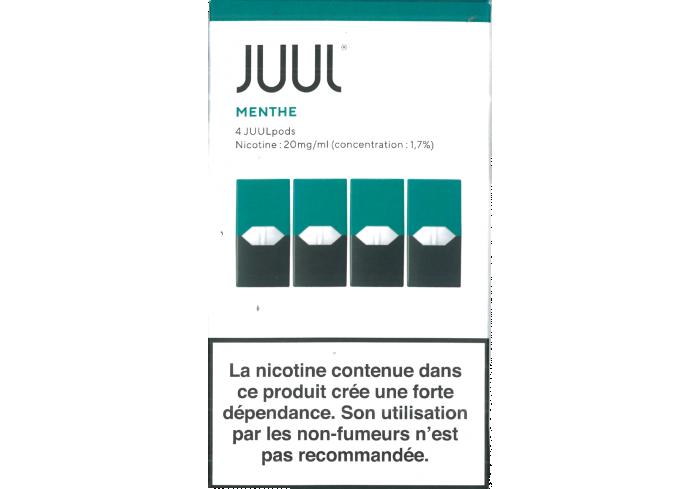 B.4 JUULpods MENTHE