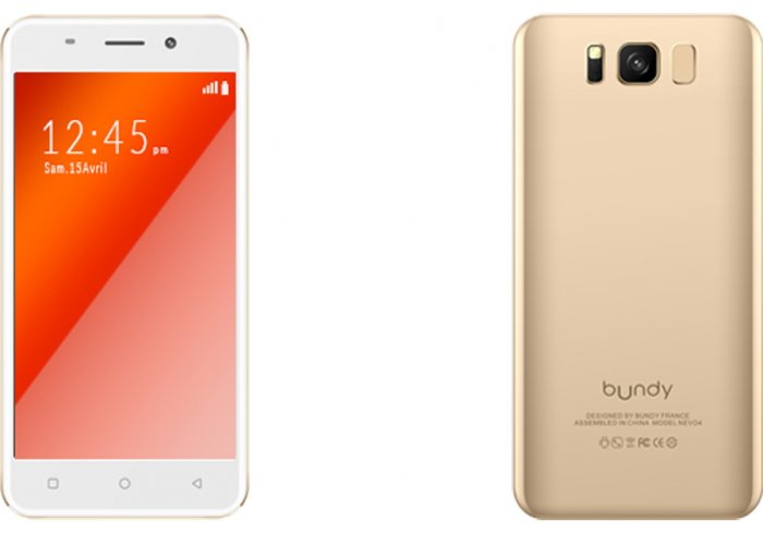 SMARTPHONE BUNDY NEVO 4 GOLD