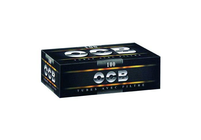 C. 100 BOITES DE 100 TUBES OCB NOIR