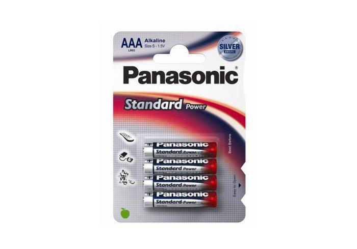 BOITE DE 12 BLIST DE 4 PILES PANASONIC LR03