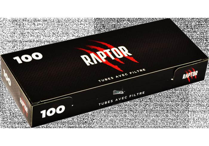 C.100 BOITES DE 100 TUBES RAPTOR