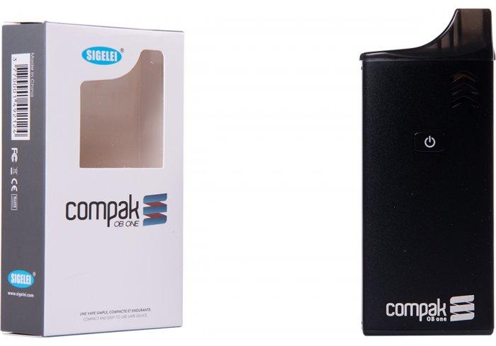 E-CIG COMPAK OB ONE NOIRE