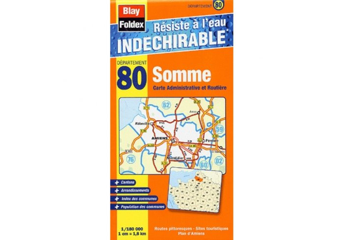 CARTE INDECHIRABLE SOMME