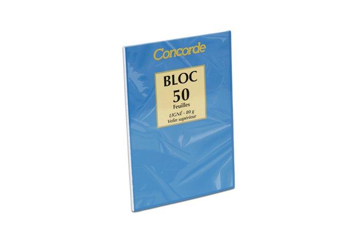 C. 20 BLOCS A LETTRE A5 LIGNES