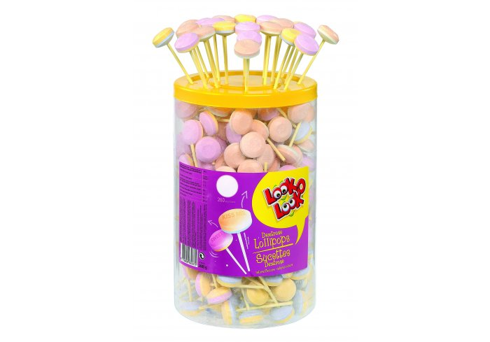 TUBO 260 SUCETTES LOLLIES UP