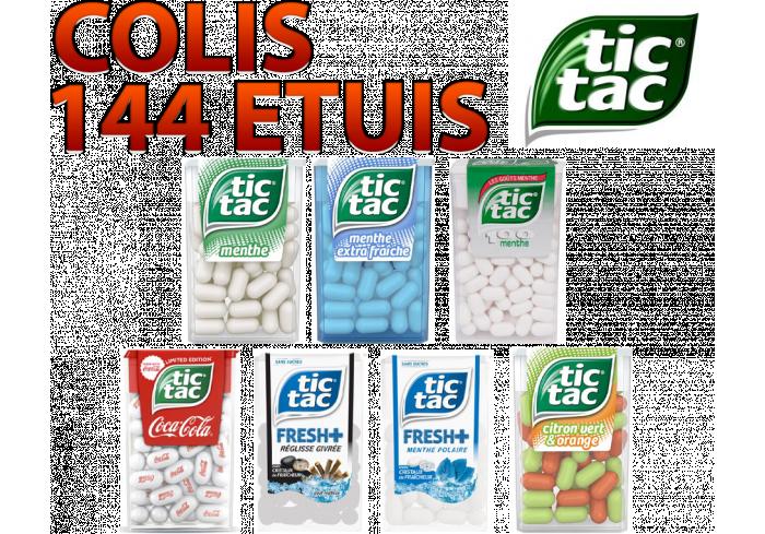 COLIS 144 ETUIS TIC TAC