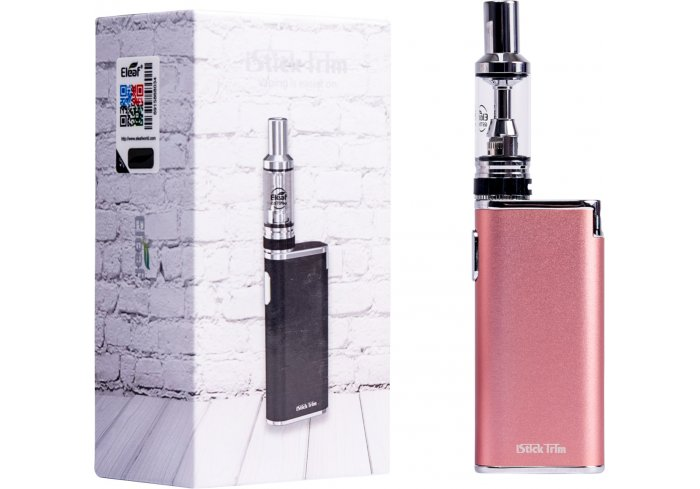 E-CIG ISTICK TRIM ROSE GOLD