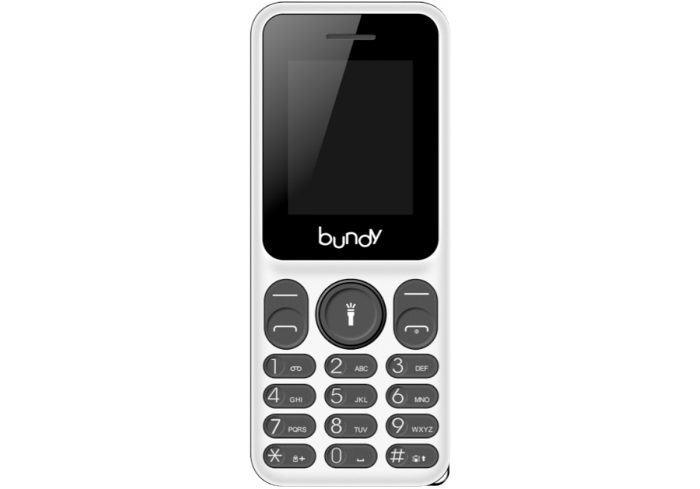 TELEPHONE BUNDY UNO + BLANC/GRIS