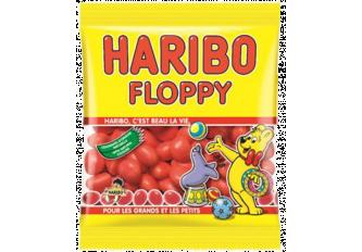 C. 30 SACH. 120GR HARIBO FLOPPIE'S