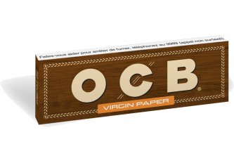 B.100 CAHIER OCB VIRGIN 1¼ UNBLEACH