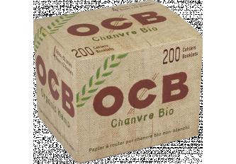 B.200 CAHIERS COURT OCB CHANVRE BIO