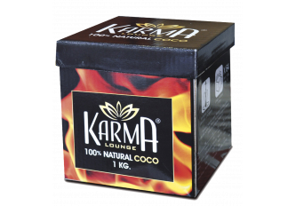 BOITE DE 1 KG KARMA CHARBON COCO NATUREL