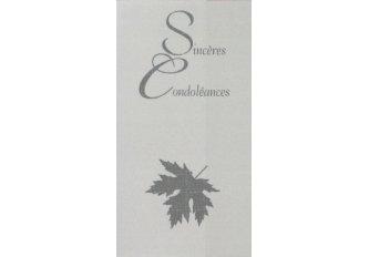 P.6 CARNET CONDOLEANCES*