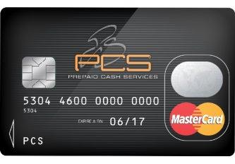 CARTE PAIEMENT PCS MASTERCARD BLACK