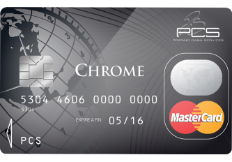 CARTE PCS MASTERCARD CHROME