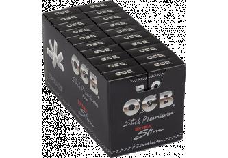 C. 20 ETUIS 120 STICKS FILTRE OCB 6MM