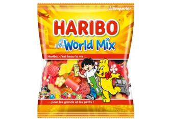 C.30 SACHETS 120gr HHARIBO WORLD MIX