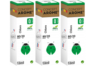 3x10ML CHLORO 0MG