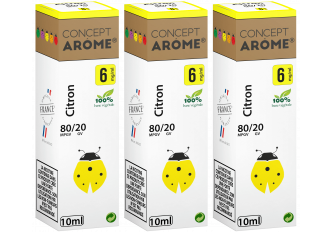 3x10ML CITRON 6MG