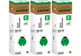 3x10ML GOUT AMERICAIN 0MG