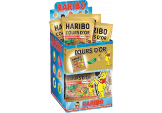 SACHETS OURS D'OR