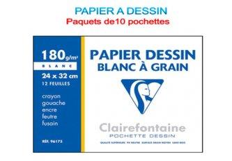 PT 10 POCH.12F.DESSIN 24X32