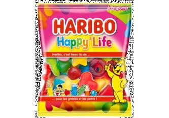 C.30 SACHETS HARIBO HAPPY LIFE 100GR
