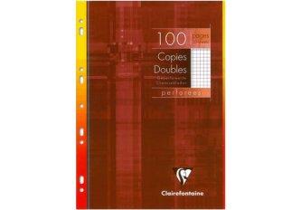 P.10 COPIES DBLE 5x5 100P.PERF.CLAIREF