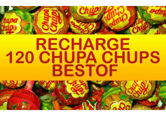 RECHARGE 120 CHUPA CHUPS BESTOF