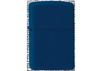 ZIPPO NAVY BLUE PLAIN