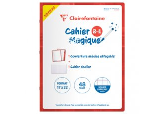 CAHIER 48P 17*22 SEYES COUV EF
