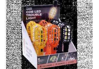 BOITE DE 9 LAMPES TORCHE TROUBLE COB LED LIGHT