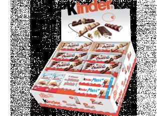BOX 48 BARRES KINDER