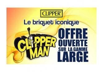 LOT 8 BARQUETTES CLIPPER ROND GRAND MODÈLE + C25