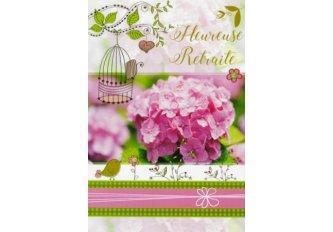 P.6 CARTE DOUBLE HEUREUSE RETRAITE