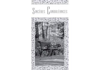 P.6 CARNET CONDOLEANCES