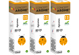 3x10ML AGRUMES 11MG