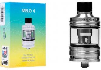 ATOMISEUR MELO 4 D25 4,5ML SILVER