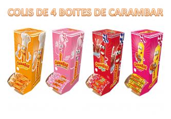 COLIS DE 4 BOITES DE 180 CARAMBAR