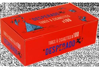 C.100 BOITES DE 100 TUBES DESPERADOS