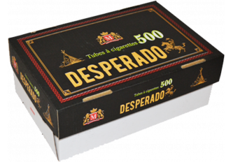 C.20 HARD BOX 500 TUBES DESPERADO